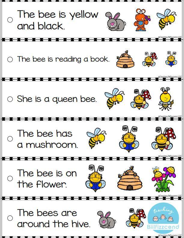 Free Reading Fluency Strip These Fluency Strip Are Perfect For Students In Pre K Kindergarten And First Grade Pendidikan Anak Usia Dini Pendidikan Kelas Tk