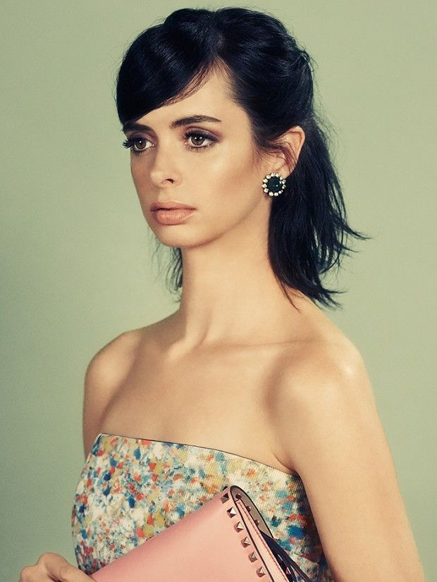 Krysten Ritter on embracing a new look, her best beauty tips, and more! via @byrdiebeauty