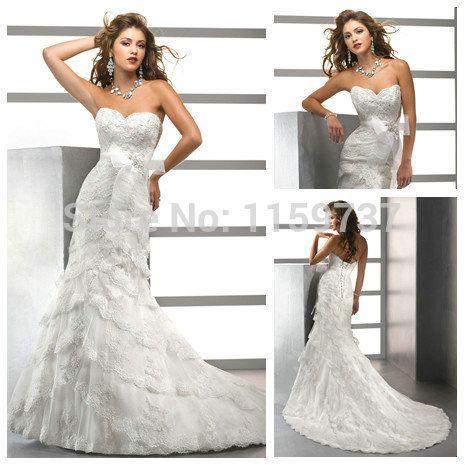 На заказ длинные платья незабываемый с бантом на пояс вверх назад русалка свадебные платья новое поступление