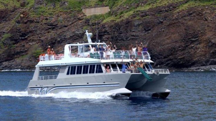 Catamaran snorkeling tours, Kahului, Maui, Hawaii