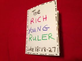 Children's Bible Lessons: Lesson - The Rich Young Ruler