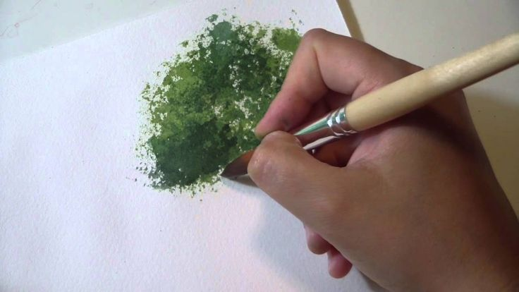 Corso di Acquerello Online: Lezione 23 - Come dipingere gli ALBERI con l...