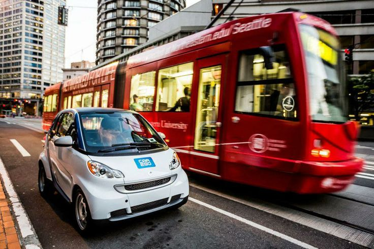 carsharing with car2go in Seattle
