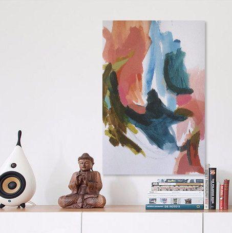 Original Abstract Art Modern Painting Acrylic on by HelenDeanArt #abstract #art #abstract painting #acrylic abstract painting