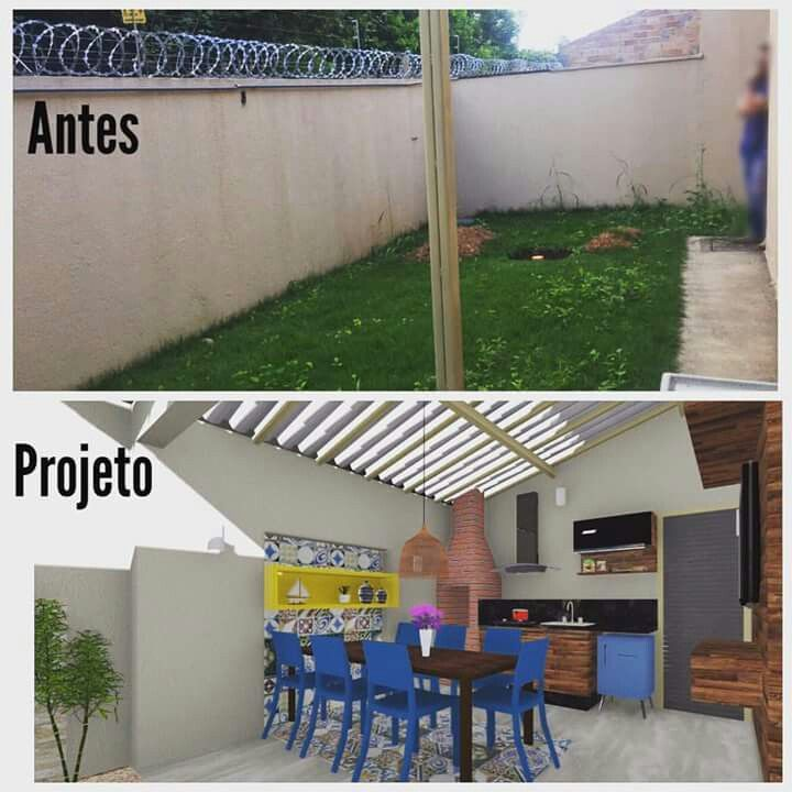 Projeto Renovacao Remodelacao Exterior Corredores De Casas