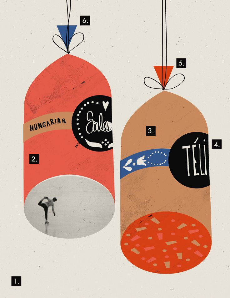 weird and lovely #illustration #graphicdesign