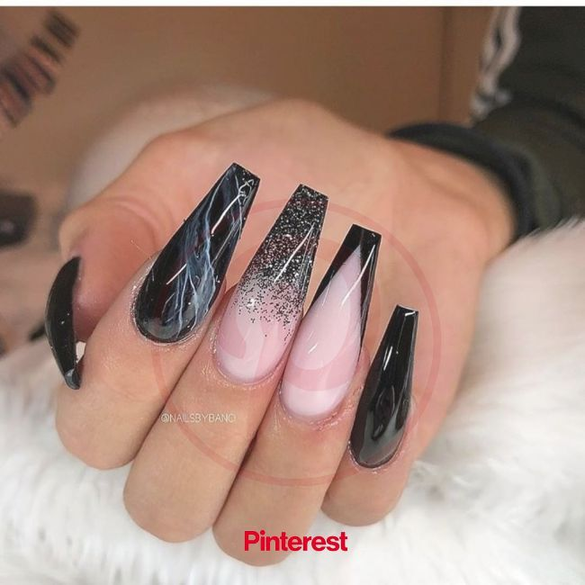 60 Simple Acrylic Coffin Nails Designs Ideas For 2019 In 2020 Long Acrylic Nails Halloween A In 2020 Long Acrylic Nails Coffin Nails Designs Halloween Acrylic Nails