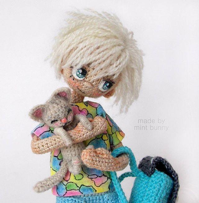 Yulia, happy dollmaker✌ @mint.bunny И крупный план. С...Instagram photo   Websta (Webstagram)