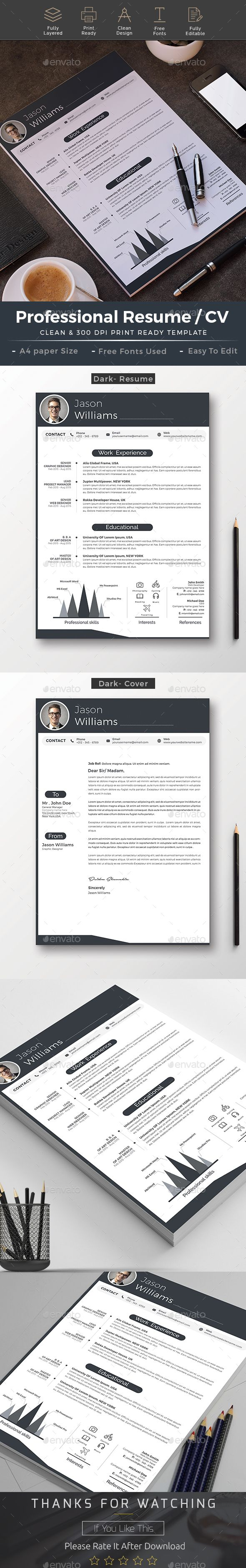 Download here, https://graphicriver.net/item/resume/19184119