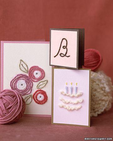birthday cards!