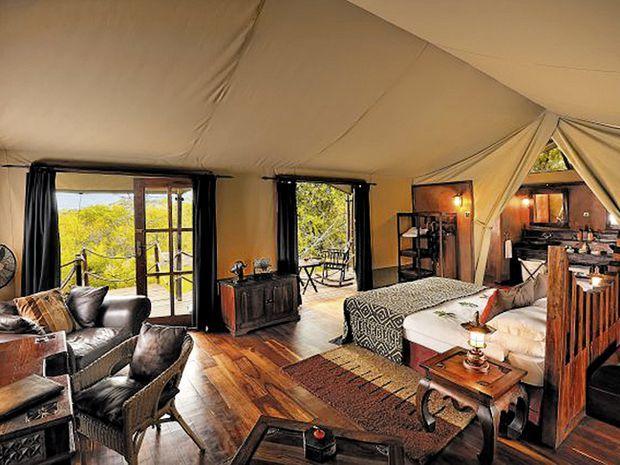 Lodge luxueuse dans le parc national du Serengeti en Tanzanie: (Photo: DR)
