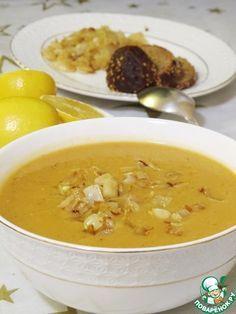 Чечевичная похлебка с чесноком - кулинарный рецепт
