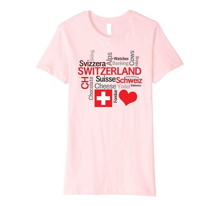 I Love Switzerland T-Shirt: