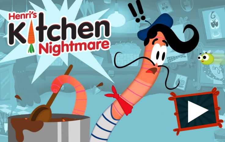 Ooh la la - I am having a Kitchen Nightmare over on my new website! Click the image to play the #game! :D