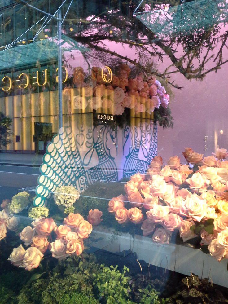 David Jones Elizabeth Street window displays
