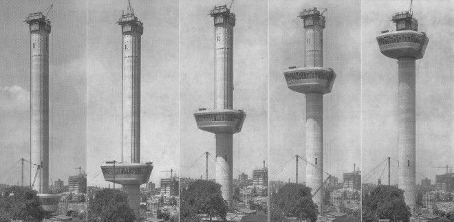 Euromast construction