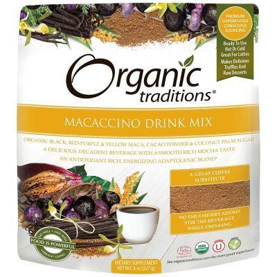 Organic Macaccino Drink Mix