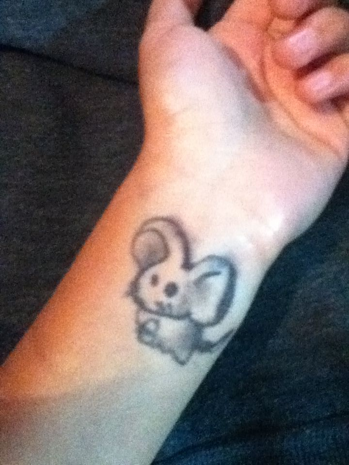 39 Best Mouse Tattoos Images On Pinterest