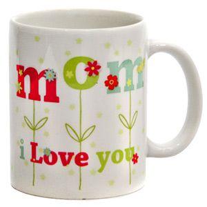 Mom I love you Mug !  Rs 499/- http://www.tajonline.com/mothers-day-gifts/product/md2107/moms-d-best-mug/?aff=pint2014/