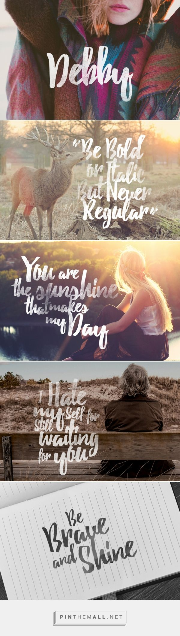Debby Free Font — Free Design Resources - created via http://pinthemall.net