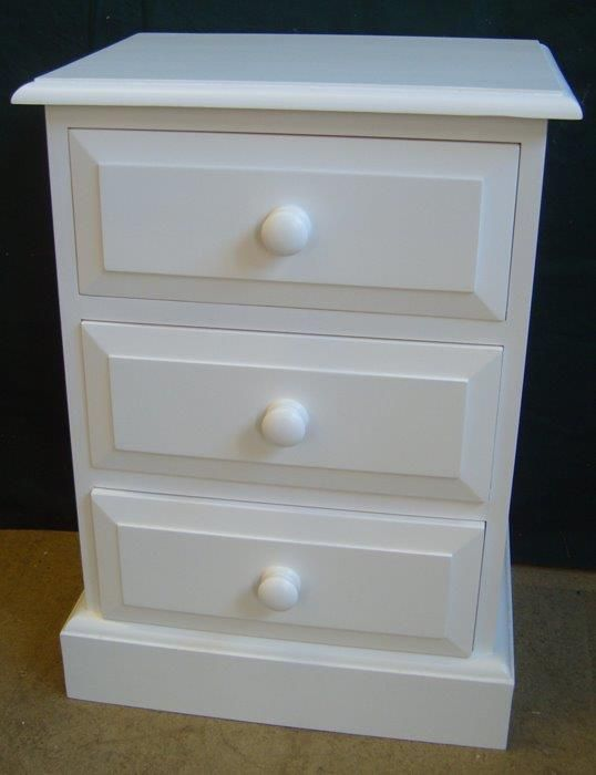 Painted pine chest of drawers - R Froud Pine Furniture