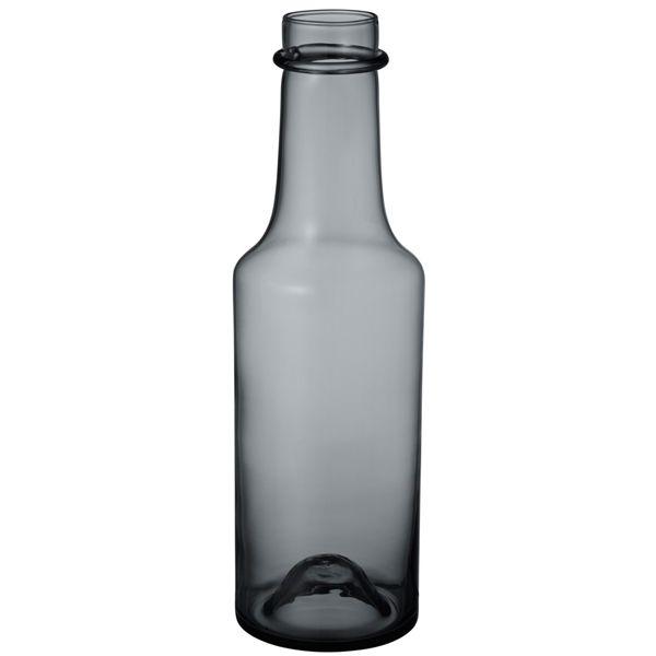 Wirkkala 2015 bottle 95x330 mm, grey, by Iittala.