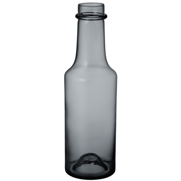 Wirkkala 2015 bottle 95x330 mm, grey, by Iittala.
