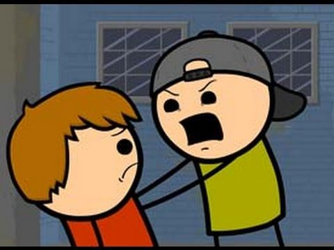 Return of the Purple Shirted Eye Stabber - Cyanide & Happiness Shorts - YouTube