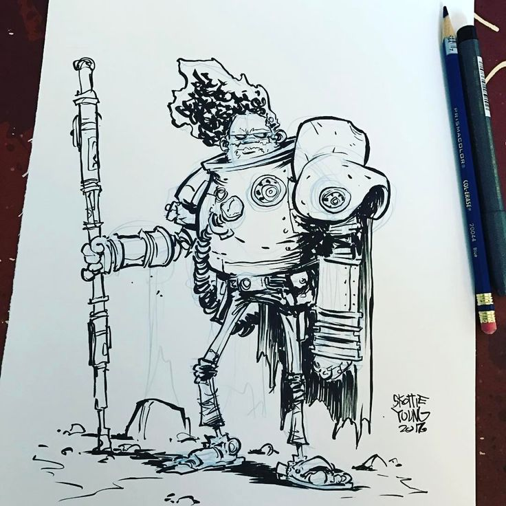 Skottie Young: Saw Gerrera