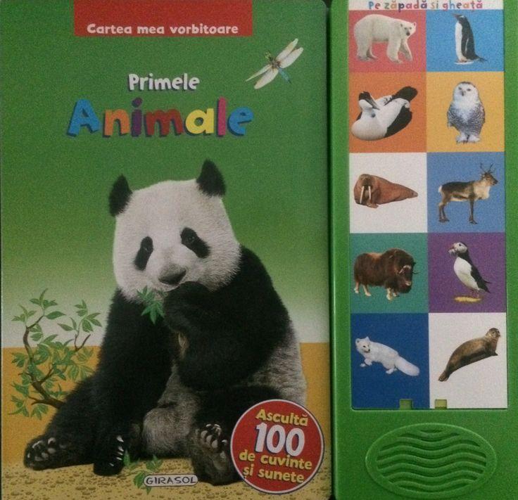 Cartea mea vorbitoare - Primele animale -  -  -