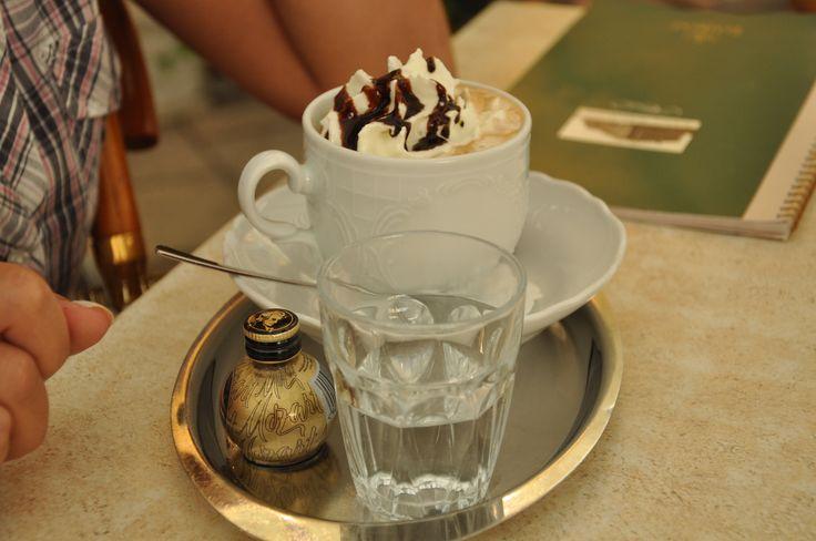 vienna - Schonbrunn Palace - coffe place