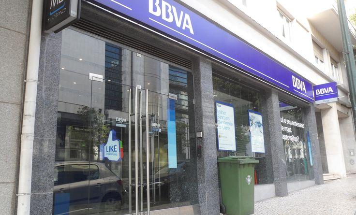 Agência BBVA - Banco Bilbao Vizcaya Argentaria na Av. António Augusto Aguiar (El Corte Inglês) em Lisboa