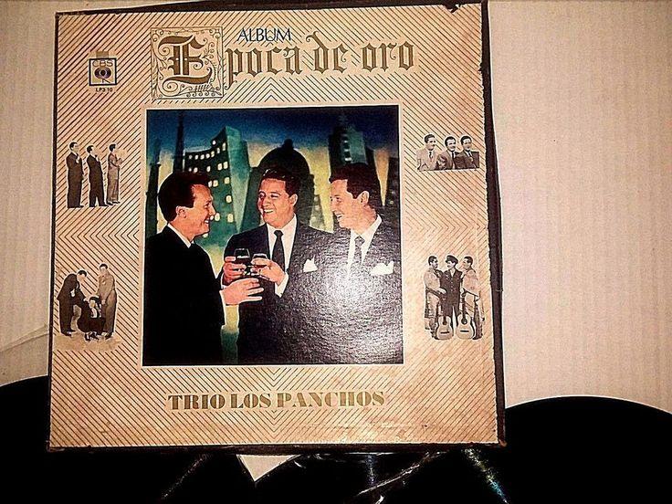 VINTAGE ALBUM EPOCA DE ORO TRIO LOS PANCHOS INCLUDES 3 ALBUMS RARE  SET 1960's #Trio