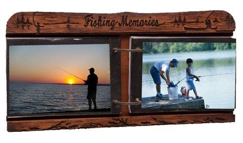"Fishing Memories"""" Tabletop 4x6 Photo Album"