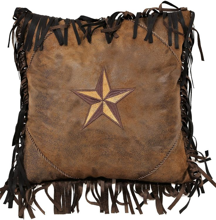 pin couch western faux pillow distressed leather pillows for