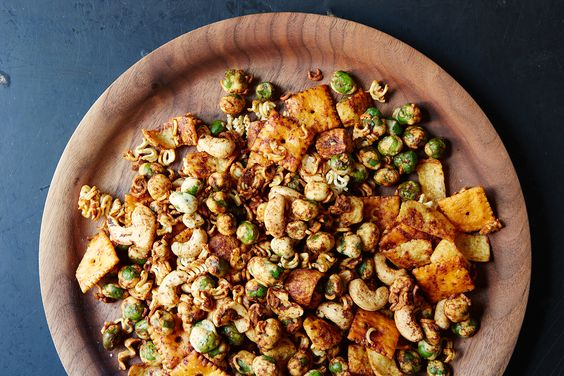 Wasabi Pea Snack Mix, a recipe on Food52