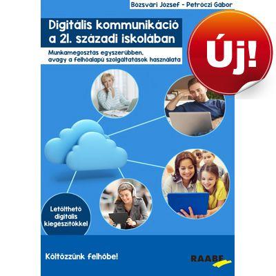 A digitális kommunikáció jövője a megosztási technikák fejlesztésében, azaz a felhőinformatikában van. A könyv a felhőinformatika iskolavezetésben, pedagógiai kommunikációban, tanügyigazgatásban történő aktív alkalmazásáról szól.