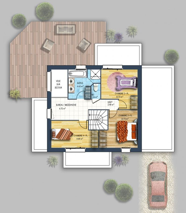 Maison moderne Montaigu 85