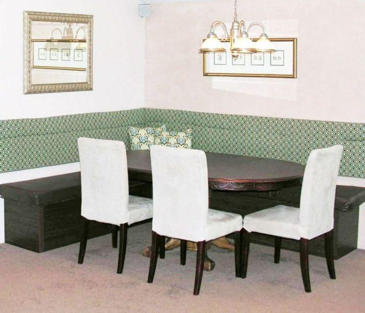 Eckbank elegantes Design Esszimmer