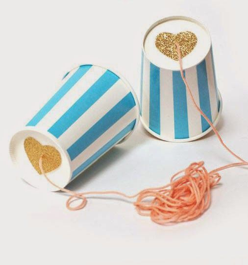 mommo design: WITH A PAPER CUP... Telephone