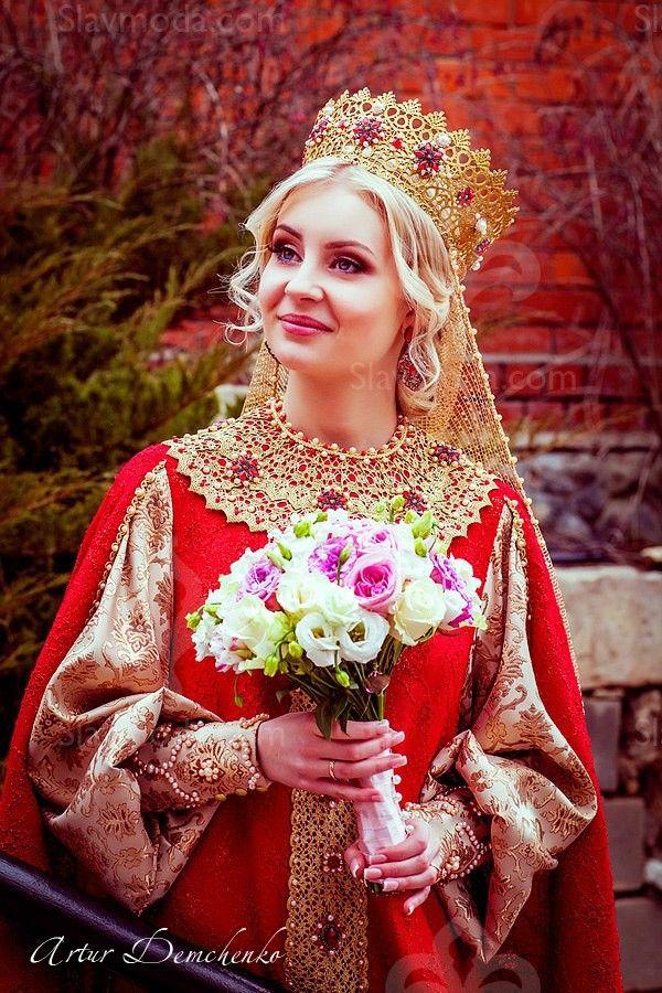 РУССКИЙ СВАДЕБНЫЙ НАРЯД | Дом Русской Одежды