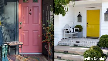 Входная дверь в дом:  создаем незабываемое  первое впечатление  Для того, чтобы получить  яркую и красивую дверь  совсем не обязательно полностью менять дверное  полотно.  Можно сделать  небольшую реставрацию  с помощью специальных  красок для внешних работ, которые стойко переносят  перепады температур и капризы природы.
