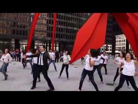 Hashem Melech Flash Mob Elliot Dvorin Key Tov Orchestra