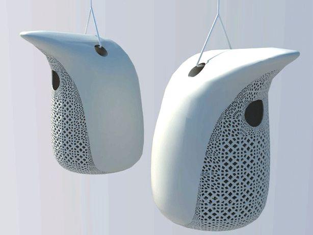 3D printed peng birdhouse