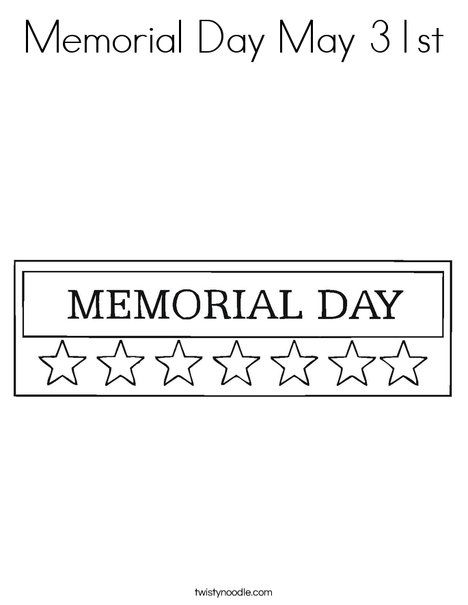 memorial day coloring pages for preschoolers