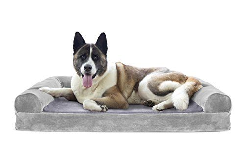 Magnificent Furhaven Pet Dog Bed Cooling Gel Memory Foam Orthopedic Ibusinesslaw Wood Chair Design Ideas Ibusinesslaworg