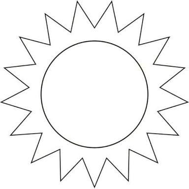 resultado de imagem para sol para colorir sol para