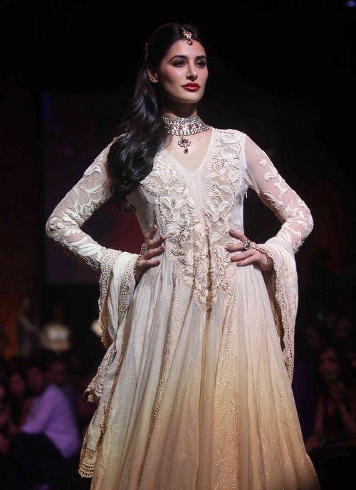 Nargis Fakhri looks stunning in Ritu Kumar