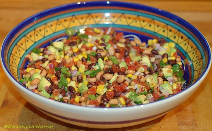 I had something completely different scheduled for my Meatless Monday post today, but I made this Cowboy Caviar yesterday for Cinco de Mayo and realized I had never posted my version of this amazin...
