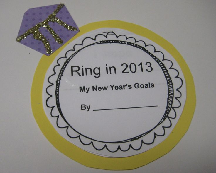 Peace, Love and Kindergarten: Ring in 2013 with a writing and craft activity